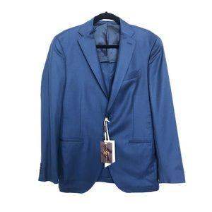 Sartoria Cantarelli Italian brand navy blazer